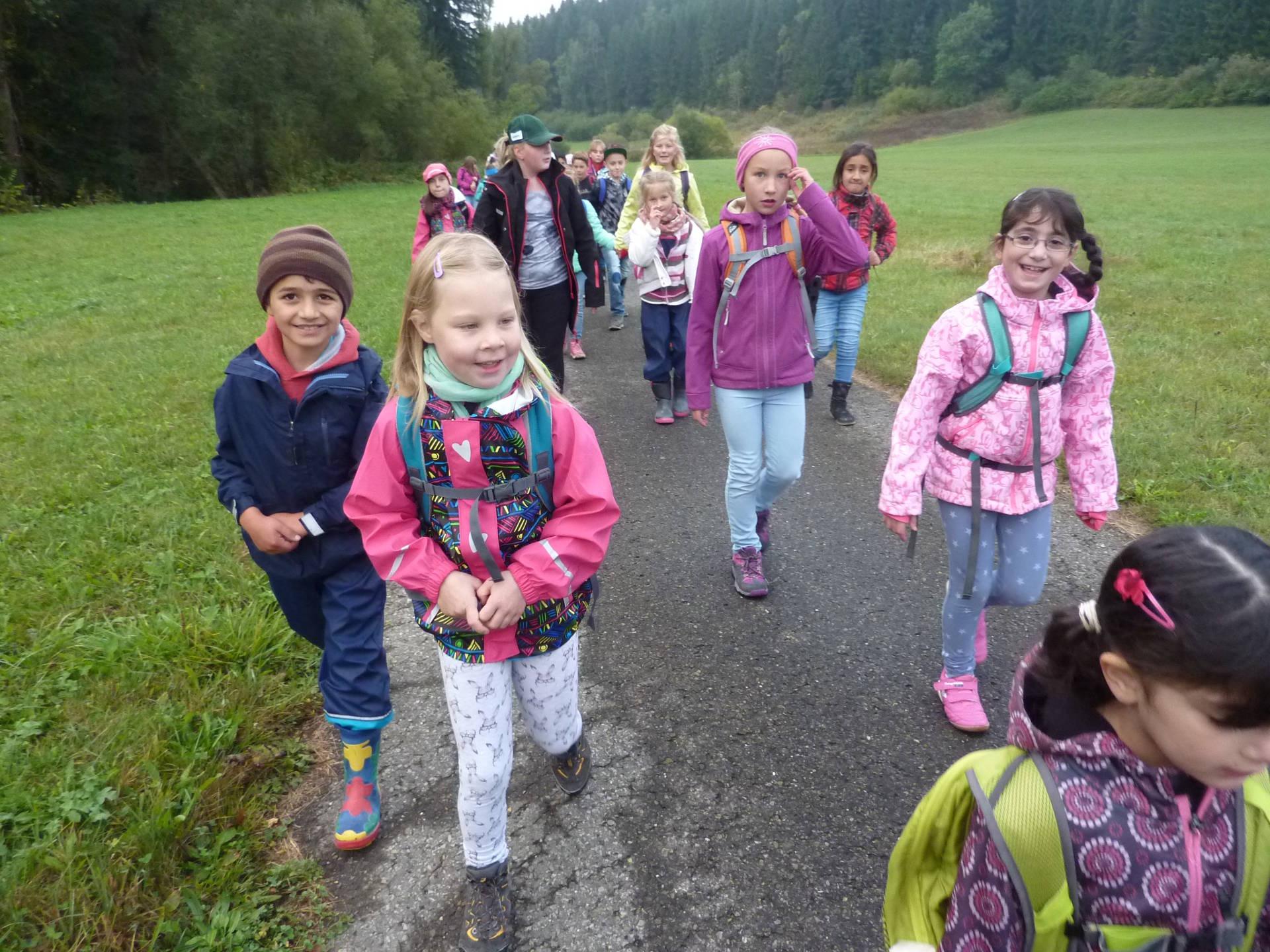 Webseite der Grundschule Stetten